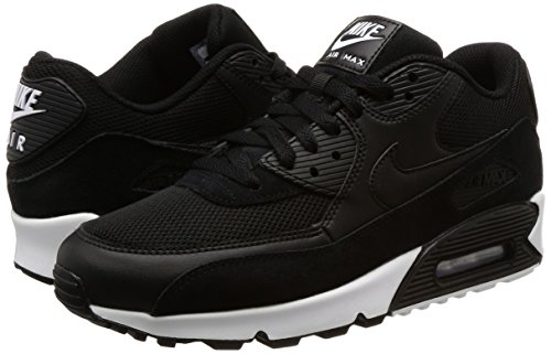 Sneakers Air Nike Max Noir Essential noir 90 Blanc Hommes v5nx6nX