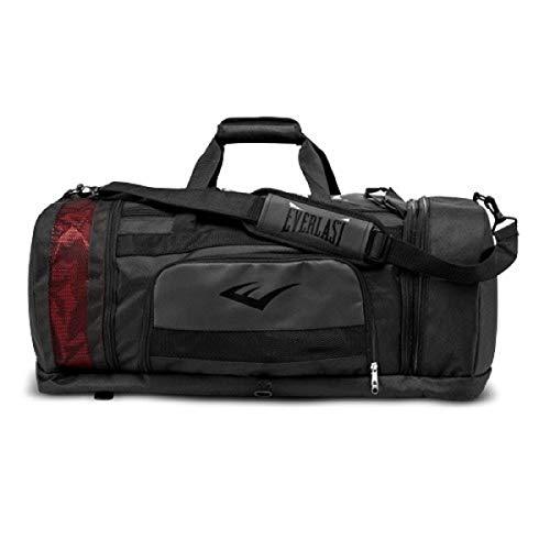 Everlast P00001578 Contender Duffle Bag Black - Gym Everlast Bag