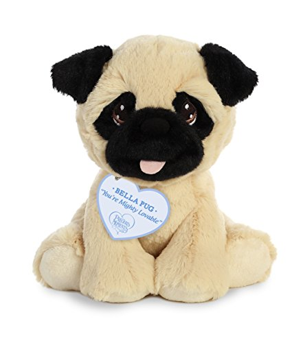 Aurora World Precious Moments Bella Pug Plush, Multicolor (Best Toys For Pug Puppies)