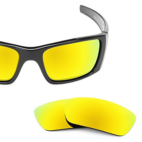 Revant Polarized Replacement Lenses for Oakley Fuel Cell Bolt Gold MirrorShield by Revant