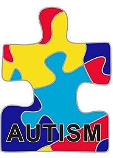 3f8b81134e5 Autism Awareness Lapel Pin: Amazon.co.uk: Sports & Outdoors