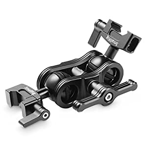 SmallRig Articulating Magic Arm with Double Ballhead NATO Clamps, Monitor Mount for Field Monitor, Lights, Audio Recorders, DIY Camera Rig - 2072