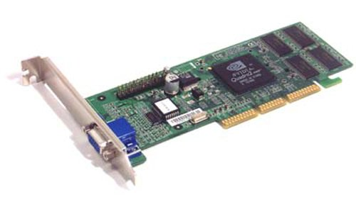 32mb Agp Video Card (IBM - IBM nVidia 32MB Quadro2 MXR AGP Short Bracket 25P6589 Video Card - 25P6589)