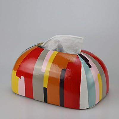 CKH Mesa de café Caja de Libro Decoración Simple Caja de pañuelos ...