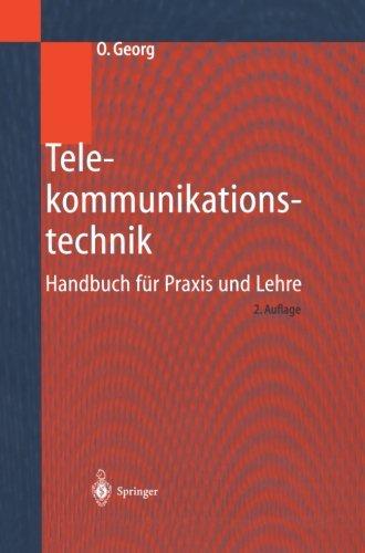 Telekommunikationstechnik: Handbuch für Praxis und Lehre (German Edition)