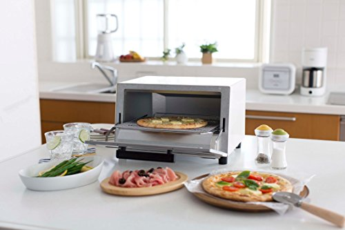 TIGER toaster oven freshly baked white wide KAM-A130W by Tiger (Image #6)