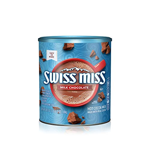 Swiss Miss Milk Chocolate Flavor Hot Cocoa Mix, 38.27 Ounce Canister