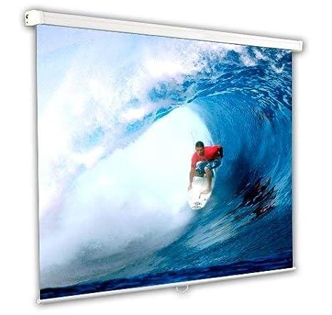 Provis - Pantalla proyector de 135 Pulgadas 244 x 244 cm: Amazon ...