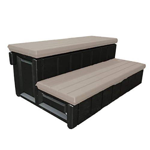Leisure Accents Spa Step, Portabello/Beige