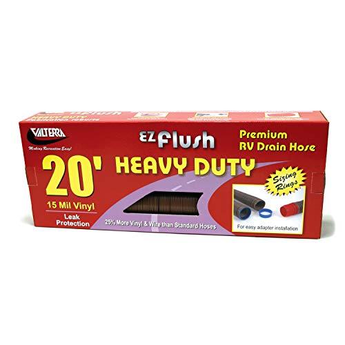- Valterra T1025VP Bronze 20' D04-0040 EZ Flush Heavy-Duty Drain Hose-20'