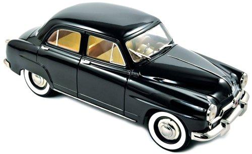 Norev 185740 - Sammlermodell Norev Simca Aronde 1953, 1/18 aus Metall, schwarz