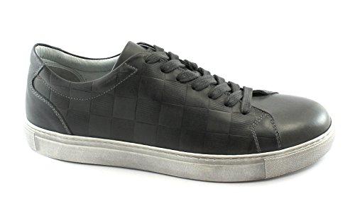 Nero Giardini 05370 Antracite Grigio Scarpe Uomo Sneaker Sportive Lacci Pelle Grigio Orden Libre Del Envío 0xHr8StO4c