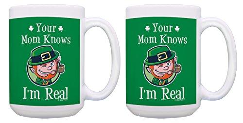 Ireland Shamrock Coffee Mugs for Men Your