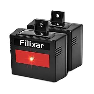 Fillixar Coyote Deterrent, Solar Predator Control Light For Nocturnal Animals, Fox Skunk Racoon Deer Repellent Lights, Chicken Coop Accessories Cat Repellent 2 Packs