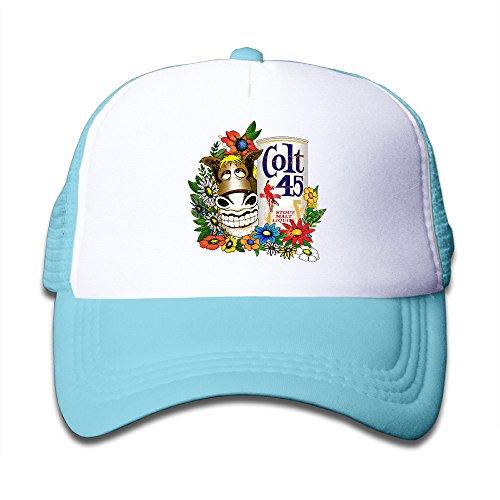 colt-45-gold-donkey-personalize-cap-one-size-skyblue