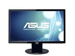 "Asus Ve208t 20"" Hd+ 1600x900 Dvi Vga Back-lit Led Monitor"