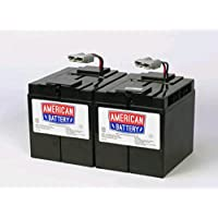 APC Replacement Battery Cartridge #55 - Spill Proof, Maintenance Free Sealed Lead Acid Hot-swappable / RBC55 /