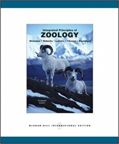Amazon integrated principles of zoology 9780071115940 integrated principles of zoology 13th edition fandeluxe Choice Image