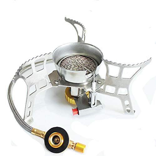 Campcookingsupplies Outdoor Stoves Connector Ultralight Copper Camping Tripod Gas Stove Tank Stand Adapter Three Legs Gas Tank Adapter Outdoor Stove Accessories Perfect In Workmanship