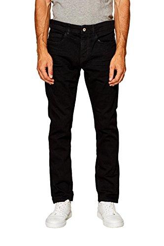 edc by Esprit, Vaqueros Skinny para Hombre Negro (Black Rinse 910)