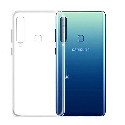 SmartLike Back Cover for Samsung Galaxy A9 Star Pro   Transparent Mobile Accessories