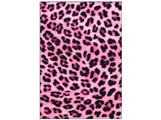 Laras Crafts-New Image Design CPE100.01079 CPE Printed Felt 9 x 12 in. Cheetah Pink44; Pack of 12