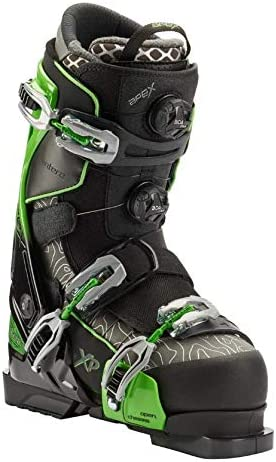 Apex Ski Boots Antero XP Topo Edition - Big Mountain Ski Boots (Men's Sizes 25-32) Walkable Ski Boot System with Open-Chassis Frame for Advanced & Expert Skiers