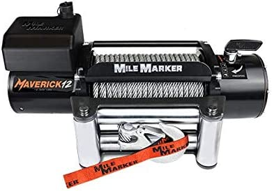 12000 lb Electric Winch Mile Marker 76-6012 Maverick 12