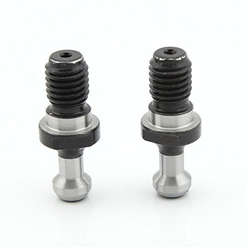 Yasorn 2-pack Taper Pull Stud Retention Knob CNC Milling Toolholder BT30 x 45 Degree