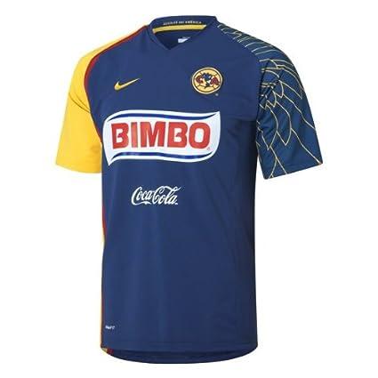 free shipping 6f367 08cec Amazon.com : Nike Club America Jersey Mens Blue/Navy ...