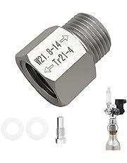 Co2-adapter läskcylinder öl akvarium co2-regulator TR21-4 till W21.8-kontakt läsktillverkare tillbehör för Co2-cylinder