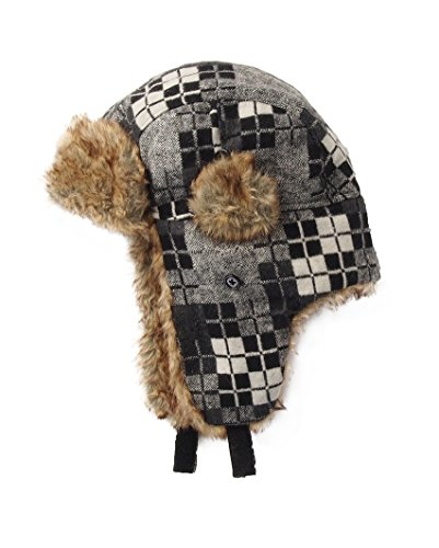 Fashion Hat House Radford Trapper Hat - 2 Designs Available - Grey