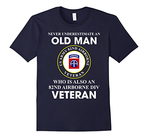 Mens 82nd Airborne Division Veteran T-Shirt XL ()
