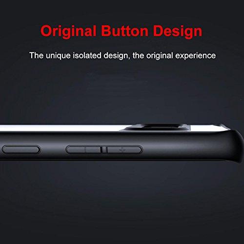Samsung Galaxy Note 8 Funda para teléfono móvil, DEMEDO (serie del ojo del águila),Doble protección para Note 8,Cinco colores son opcionales - Rosado Azul