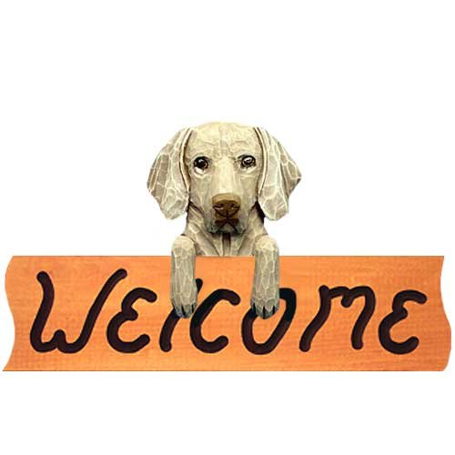 Weimaraner Welcome Sign MAPLE