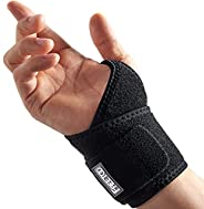 FREETOO Air Mesh Wrist Brace for Carpal Tunnel support for pain relief, Compression Wrist support strap at wor