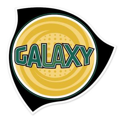 Los Angeles Galaxy MLS - United States Football Soccer Futbol - Car Sticker - 4