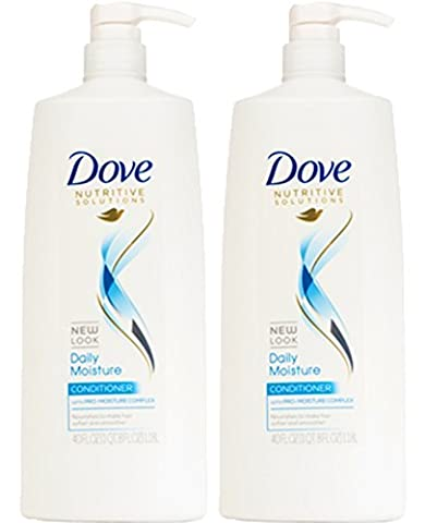 Dove Hair Therapy Daily Moisture Conditioner, 40 Ounce, (Pack of 2) - Hydra Intense Hydrating Gel Mask