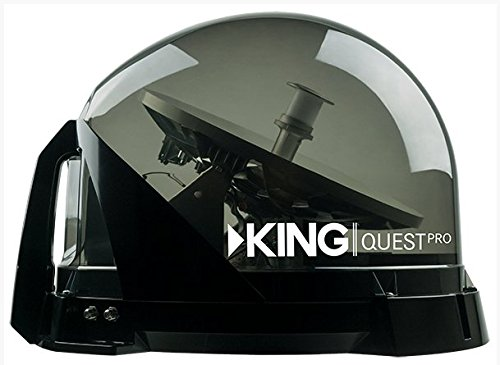 KING VQ4800 Quest Pro Portable/Roof Mountable Satellite TV Antenna (for use with (Quest Roof)