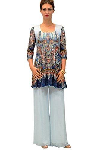 Spring Lana women's 3/4 sleeve tunic by Amma Design