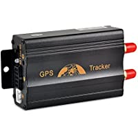 Car Vehicle GPS Tracker TK103A Quad Band SD Card Slot Anti-Theft move alarm by SMS