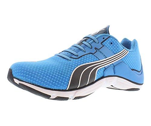 Puma Mobium Elite Men's Running Shoes Size US 10.5, Regular Width, Color Black/sky Blue/white