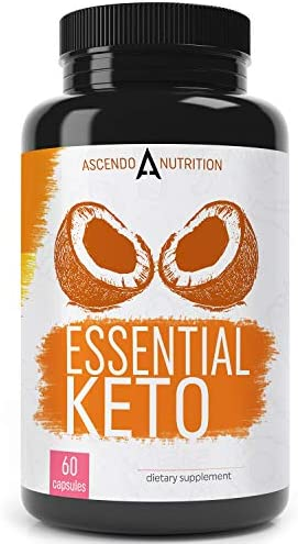 Keto Pills – Ultra Fast Keto Boost Supplement and Ketogenic Accelerator with Coconut MCT Oil, BHB Exogenous Ketones, and 7-Keto DHEA – Best Keto Diet Pill for Women and Men – 60 Capsules