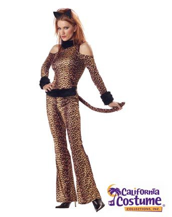 Luscious Leopard Costumes (Sexy Luscious Leopard Costume - Womens Small)