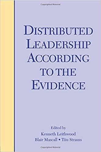 Distributed leadership according to the evidence