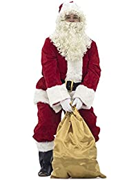 Crimson Regency Plush Santa Suit 10pc.