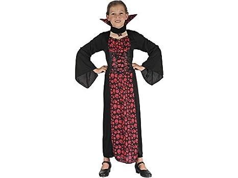 DISONIL Disfraz Vampiresa Niña Talla M: Amazon.es: Juguetes y juegos