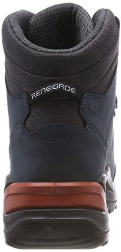 Bleu Chaussures Renegade 20 6943 Lowa kupfer navy De Randonnée Hautes Gtx Homme Mid AzIAUq