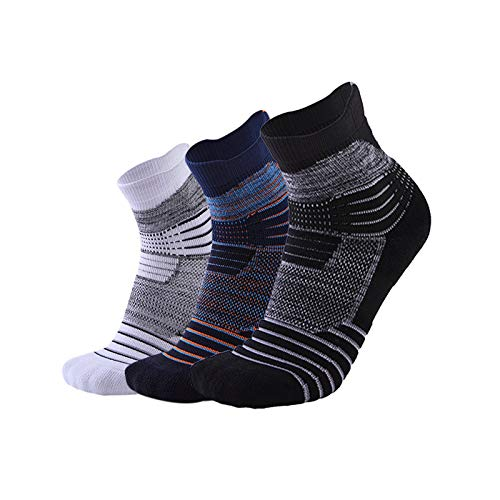 Anazoz Men 3 Basketball Pair Multicolor Sports Socks 0Xw8knOPNZ