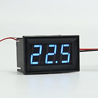 0.56inch 3 Bit -200~450 Digital LED Thermometer Temerature Tester PT100 Blue